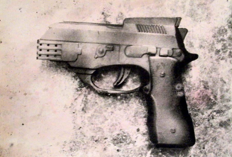 Ole Henrik Hagen. pistole 2