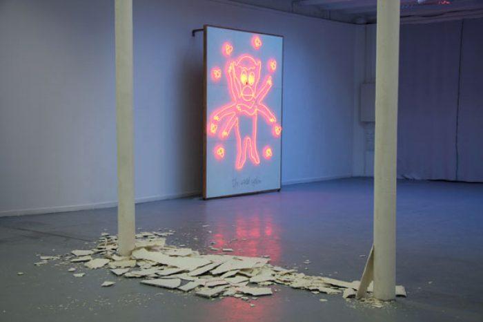 Ole Henrik Hagen, the world system,255x195cm,2010