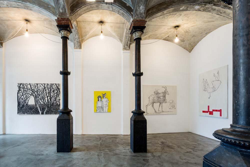 """Ole Henrik Hagen. psychologische landschaften"""" Galerie Kammer 2016"""